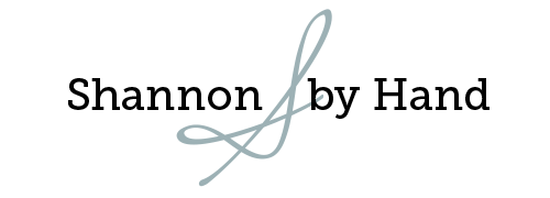 Shannon By Hand Logo